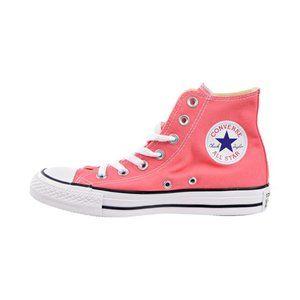 Converse Chuck Taylor All Star Hi Tops Mens 6.5 Shoes Pink Peach Punch Coral